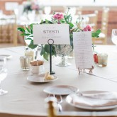 Event Table Setting Julia Wade Photography 74 South Event Venue at Moretz Mills Hickory, NC