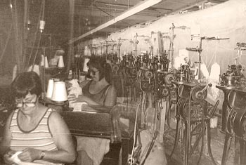 Knitting at Moretz Mills