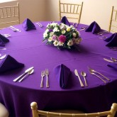 Boulevard Private Room corporate event table setting