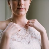 Pearls Bradshaw & Burchette Wedding_Revival Photography 74 South Event Venue at Moretz Mills Hickory, NC