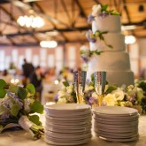 Wedding Cake Bradshaw & Burchette Wedding_Revival Photography 74 South Event Venue at Moretz Mills Hickory, NC