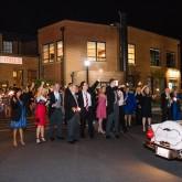 Send Off Bradshaw & Burchette Wedding_Revival Photography 74 South Event Venue at Moretz Mills Hickory, NC
