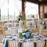 Tables Event room Bradshaw & Burchette Wedding_Revival Photography 74 South Event Venue at Moretz Mills Hickory, NC